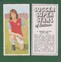 Aston Villa Brian Little England 2